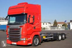Camion Scania R 410 BDF Jumbo Topline etade Standklima ACC châssis occasion
