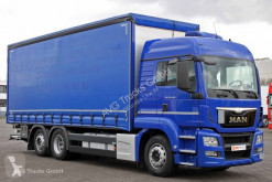 MAN TGS 26.400 E6 Intarder Schiebeplane Edscha LBW truck used tarp
