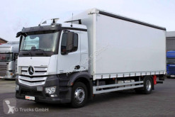 Camion savoyarde occasion Mercedes Antos 1833 L Schiebeplane Edscha Liege LBW