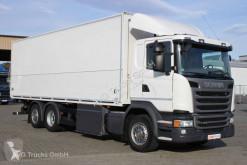 Camión furgón usado Scania G 450 6X2*4 Lenkachse LBW Retarder etränkekoff