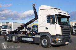 Camião poli-basculante Scania R 410 6X2*4 etade Lenkachse HIAB Multilift