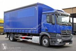 Camion savoyarde Mercedes Antos 1833 L EURO 6 für Heckstapler Schiebeplane