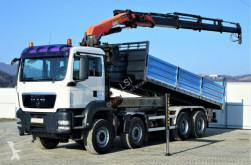 camion MAN TGS 41.400 Kipper 6.30m + Kran* 8x4 !!!