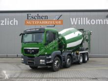 camion MAN TGS 32.400 BB, 9m³ Stetter, Klima