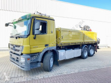 Mercedes Actros 3 2546 L/42/6x2-4 3, 2546 L/42/6x2-4, Hiab Kran 200 B-2, Lenk-Liftachse truck used three-way side tipper