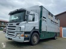 Camion van à chevaux Scania P 380 mitt Menke Doppelstock
