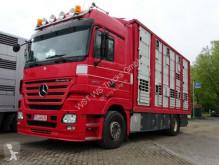 Camion van à chevaux occasion Mercedes Actros 1844 L Menke Doppelstock