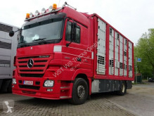 Camion furgonetă transport cai second-hand Mercedes Actros 1844 L Menke Doppelstock