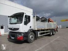Camion plateau ridelles Renault Premium Lander 340 6x4