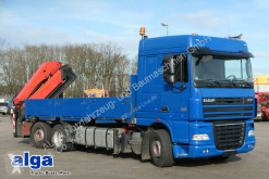 camion DAF XF 105.410 T/Container/Kran Palfinger PK29002