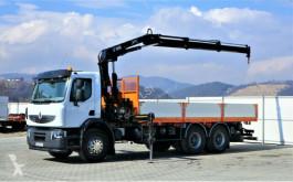 камион Renault Premium 370 DXI Pritsche 6,50m+Kran *6x4*