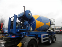 Betonmsicher sep. Motor, N.V. Mulder-Boskoop D2SU80Z trailer used concrete mixer