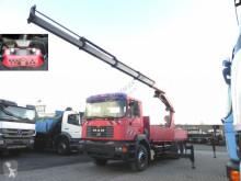 Camion MAN F2000 Palfinger PK 35.000 + Funkfernbedienung plateau ridelles occasion