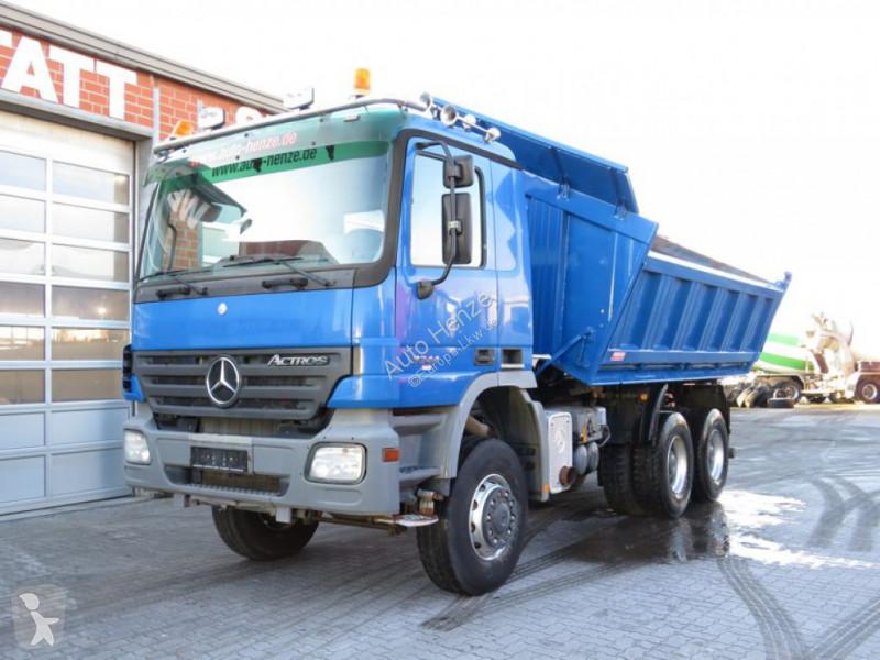 Voir les photos Camion Mercedes Actros Meiller