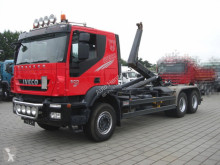 Iveco TRACKER AT260T50 6x4 Abrollkipper Meiller truck used hook arm system