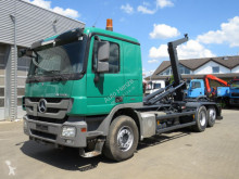 Mercedes Actros 2546 L 6x2 Abrollkipper Retarder truck used hook arm system