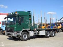 Camion trasporto tronchi Mercedes Actros Mercedes Actros V8, Retarder ausziehbare Rungenpaare