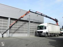 Camion savoyarde Mercedes Actros Fzg. nachgerüstet mit Puritech Partikelfilter, damit grüne Umweltplakette !