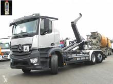Gancho portacontenedor Mercedes Antos 2745 6x2 Abrollkipper Meiller, Lift Lenk