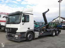 Mercedes Actros 2541 L6x2 Abrollkipper Meiller truck used hook arm system