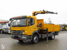 Camion Mercedes Atego Palfinger Greiferst. plateau occasion