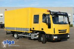 Camión Iveco ML80E18 Euro Cargo, wie NEU, 7-Plätze, AHK lona corredera (tautliner) usado