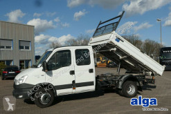 Iveco 70C17 4x2, DOKA, 7 Plätze, Kugel- & Maul-AHK truck used three-way side tipper