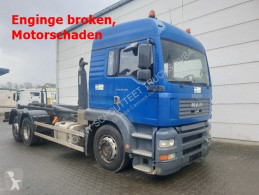 MAN TGA 26.360/6x2 / LL 26.360/6x2 LL, VDL 21-6200 Abrollkipper truck used hook lift