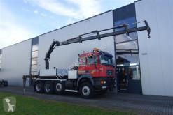 camion MAN 40.464 8X6 MANUAL WSK RETARDER HIAB PUSH AND PULL 220 TON