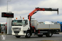 Camião DAF CF 75.310 / 4X2 / CRANE PALFINGER 15500 / RADIO estrado / caixa aberta usado