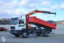 MAN 19-314 Kipper 5,20 m/BORDMATIC + Kran ! truck
