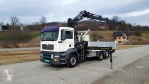 camion MAN TGA 26.440 Pritsche 6,40 m+Kran/FUNK*4x4!