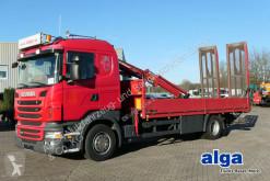 camion Scania R 360 LB 4x2, Rampen, Kran Atlas 65.2-A2L, AHK