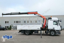 Mercedes dropside truck 1846 L Actros/5,0 m. lang/Palfinger PK16502 Kran