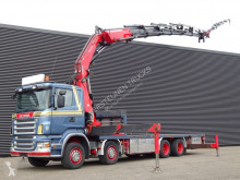 Scania R 560 truck used flatbed