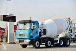 ciężarówka betonomieszarka Renault