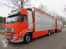 Volvo cattle trailer truck FH12