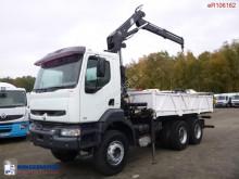 Used flatbed truck Renault Kerax 350
