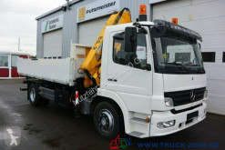 camion Mercedes 1522 3 S.-Kipper Atlas Kran 7.30m=1,14t.1.Hand