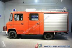 Mercedes furgon teherautó 608 D LF8 Feuerwehr Bachert 9-Sitzer Löschpumpe