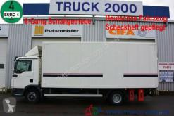 camion MAN TGL 12.220 Koffer mit Seitentür LBW 1.5 Tonnen