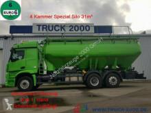 Mercedes food tanker truck 2648 Heitling 31m³ Silo für Pellets+Staub-Riesel