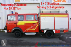 Teherautó Iveco 75E16 A Mannschaft- Feuerwehr Löschpumpe Top használt furgon