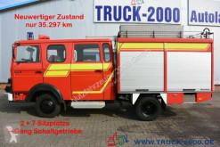 Camião Magirus-Deutz 75E16 A Mannschaft- Feuerwehr Löschpumpe Top furgão usado