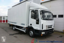 Camión Iveco EuroCargo 75E18 EEV Koffer Seitentür LBW 1.5 to furgón usado
