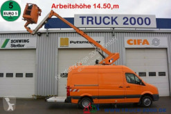 Volkswagen Crafter Crafter Ruthmann 14,5m Arbeitshöhe 7.20m seitl. used telescopic articulated platform commercial vehicle