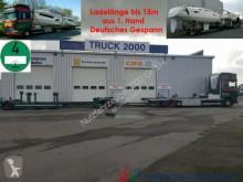Scania 124 G 420 Boot / Shipping Transport Gespann