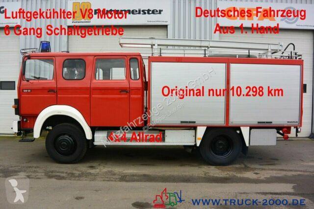 Voir les photos Camion Magirus-Deutz 120-23 AW LF16 4x4 V8 Motor nur 10.298 km 1.Hand