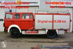 Camión Magirus-Deutz 120 - 23 AW LF16 4x4 V8 nur 10.298 km -Feuerwehr furgón usado