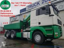 camion MAN TGA 33.480 Kran PK 42502 16.6m=1.9 t nur 164 tkm
